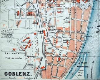 Koblenz germany Etsy