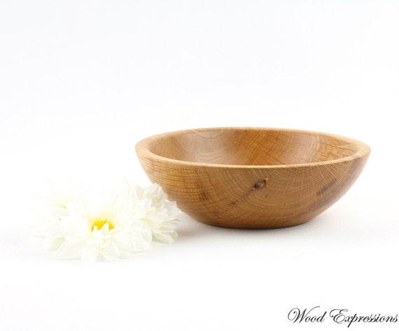 Wooden Hickory Bowl / Dish