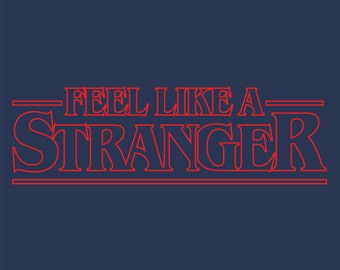 Grateful Dead Feel Like a Stranger (Things) Red   Men's
