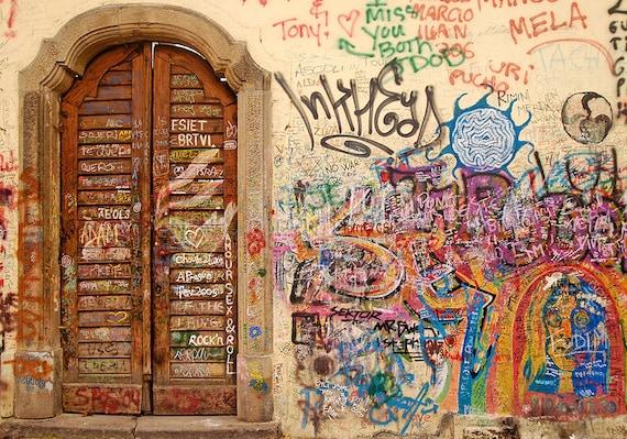 tribute John Lennon, Fine Art Photography, Graffiti art, John Lennon, Urban art, John Lennon Art, John lennon art, The beatles