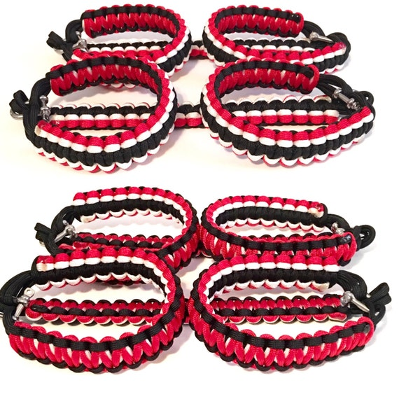 NEW*****Tri Color/Reversible Cobra Paracord Grab Handles