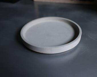 Bowl, plate, concrete coaster
