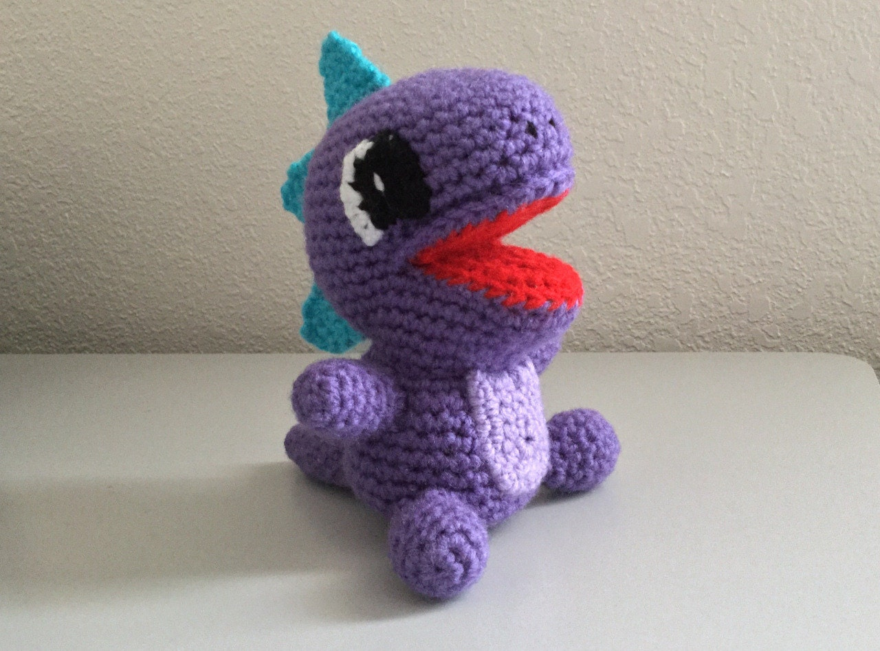 Dragon Lizard pattern - crochet dragon pattern - crochet dinosaur ...