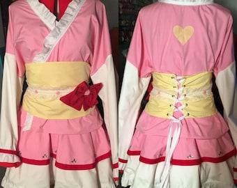 Madoka Magical Girl Kimono Dress