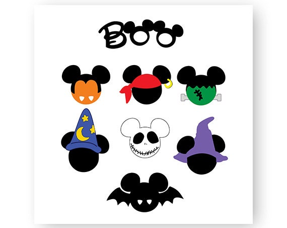 Disney, Icon Mickey Mouse, Icon Minnie Mouse, Halloween, Mouse ...