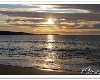 Hayle Sunset Photographic Print