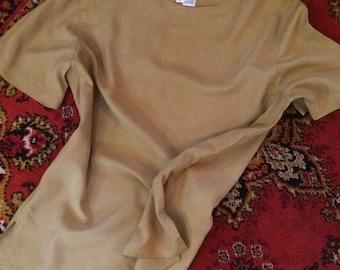 Vintage silk t-shirt