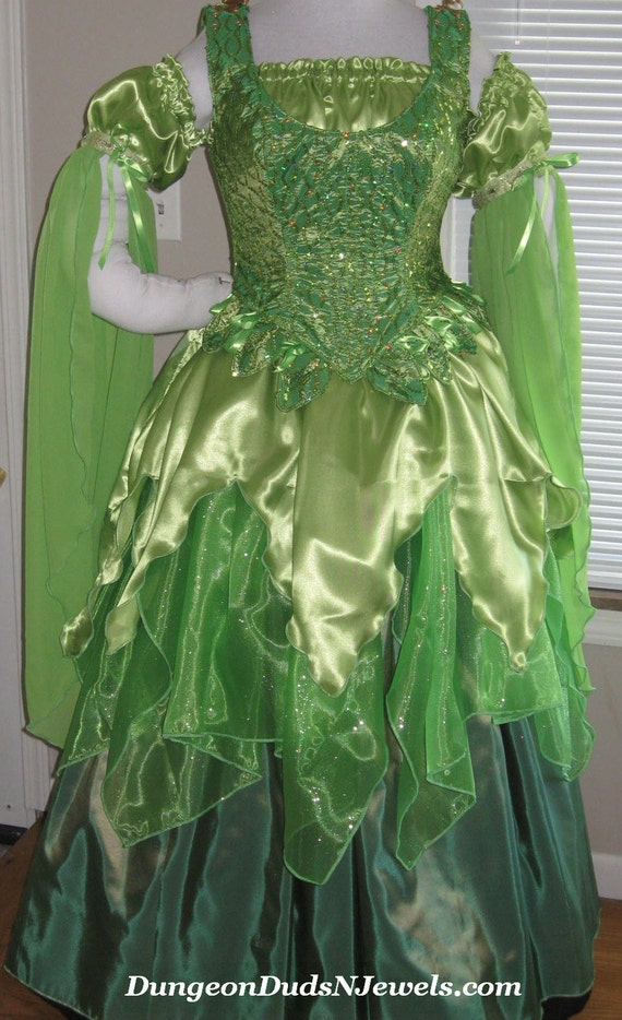 Like this item? & DDNJ Choose Color 4pc Fantasy Fairy Corset Gown Princess Queen