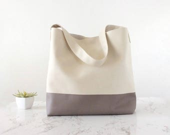 Christmas gift for her bag hobo bag white ivory, vegan purse hobo, holiday gift for wife christmas vegan, wife christmas gift vegan gifts