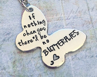 Butterfly Inspiration Awareness Necklace