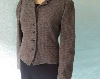 Levi Strauss & Co Fitted Wool Jacket Size 12
