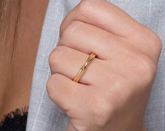 Wedding rings, Mobius ring, Mobius wedding band, Infinity ring,  Wedding band, Infinity Promise ring,  Mobius 2.5mm