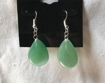 Jade Teardrop Earrings