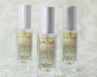In the Dunes Perfume   A NEW Summer Fragrances of Driftwood, Vanilla, Dune Grass, Coconut Milk, and Musk