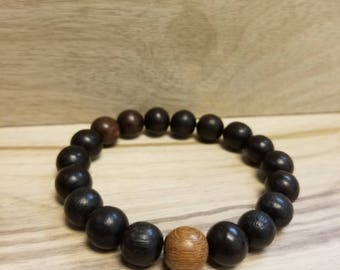 Wood bracelet - Style #2