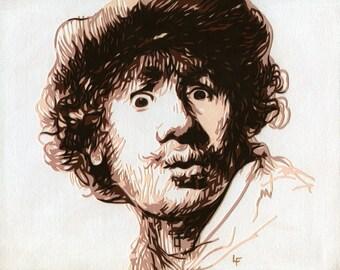 Rembrandt Art Print