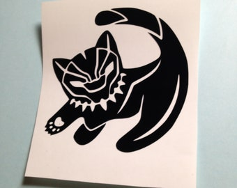 Black Panther Simba Decal