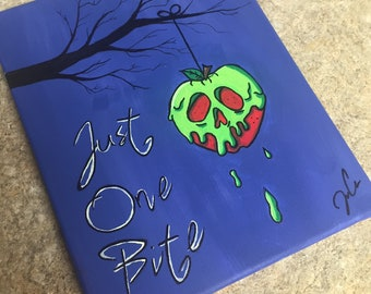 Poison apple painting