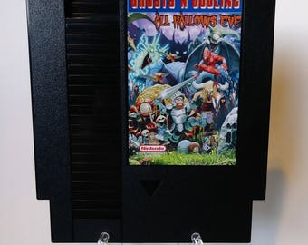 Ghosts 'N Goblins All Hallows Eve NES Nintendo Repro Reproduction Free Shipping!