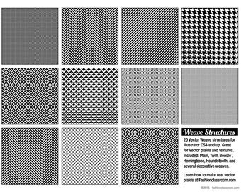 Vector Weave Structures