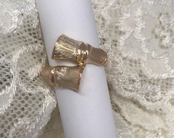 Simple And Fun 14K Yellow Gold Ring