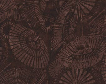 Hoffman Fabrics Bali Batiks 2842 6 Brown Umbrellas By The Yard