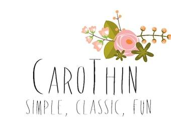 CaroThin font