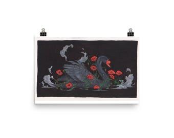 Black Swan Print
