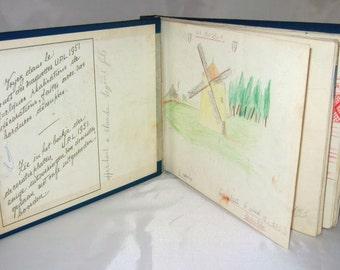 1950's Sketch Book