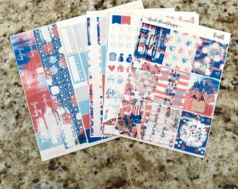 FOIL FOURTH Deluxe Kit, planner stickers