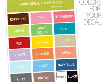 Color Chart Sample