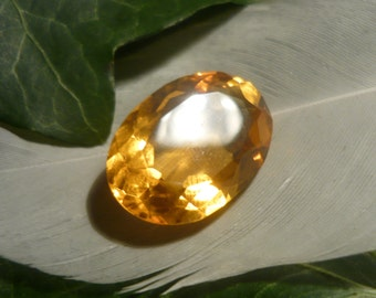 Citrine, 11.8ct Oval Cut