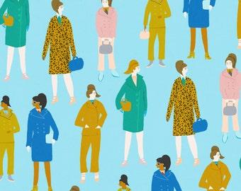 Fashion pattern illustration print a4