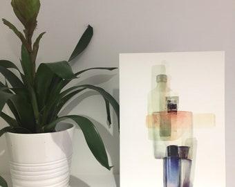 Parfum II | Contemporary watercolour giclee print by Joanna Layla