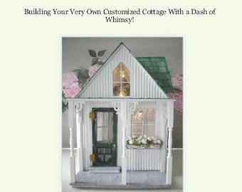 PDF-  A Shabby Chic Dollhouse by Cinderella Moments-PDF