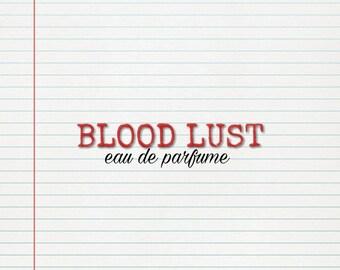 Blood lust eau de parfume