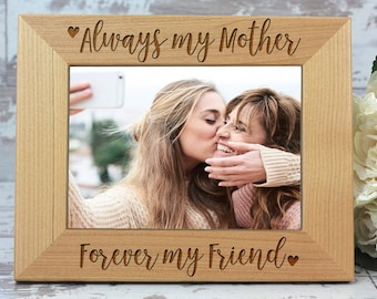 Mothers Day Gift, Personalized Picture Frame, Engraved Photo Frame, Gift For Mom, Frame, Gift For Her, Personalized Gift, FRM202