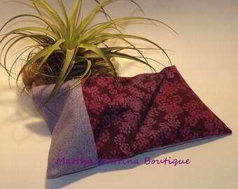 Ahhh-Maize-ing Corn Comfort Sak Multi Size Wrap 'Wisteria', Purple, Lavender, Floral, Microwave Corn Bag