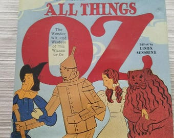 All Things Oz book by Linda Sunshine