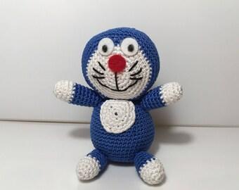 Amigurumi Doraemon Free Pattern : Crochet doraemon etsy