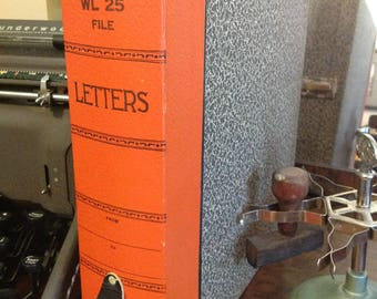 Vintage Weis Letter File Box