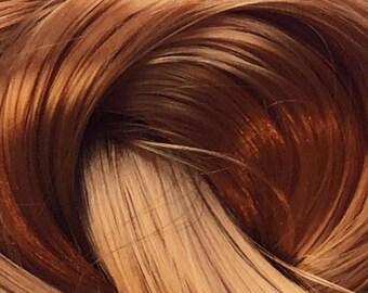 Ginger Nylon Doll Hair