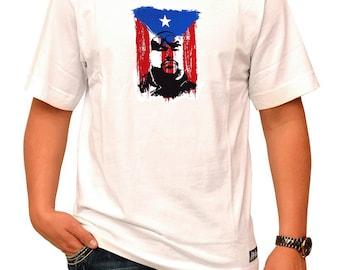 Big Pun Puerto Rican Boricua White T-Shirt