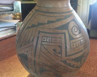 Antique Mata Ortiz Pottery Pot Vase vessel  Mexican