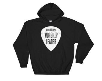 World's Best Worship Leader Hoodie - Worship Leader Shirt - Worship Leader Gift