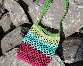 Croched Tote Bag-Fairtrade-Organic