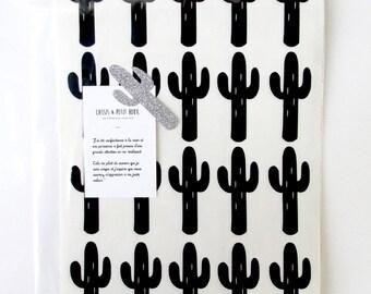 Stickers cactus (40 pieces)