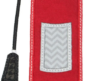 Fire Extinguisher Applique Embroidery
