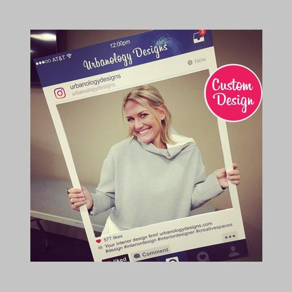 Instagram Photo Booth Prop Large Instaframe Social Media
