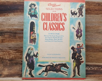Best Loved Selections from Childrens Classics, 1963, vintage kids book
